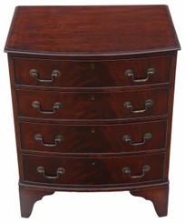 Small mahogany chest of drawers C1915