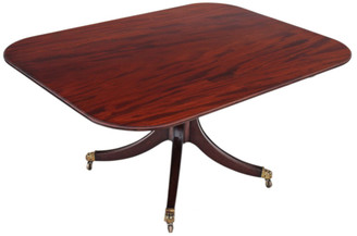 Victorian mahogany tilt top loo breakfast table