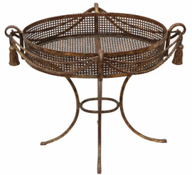 Wrought iron classical orangery planter urn