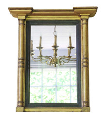 Early 19th Century gilt pier wall mirror