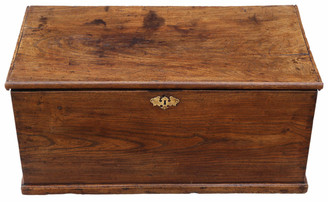 18th Century elm coffer