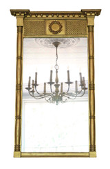 Regency overmantle or wall mirror