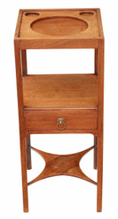 Georgian C1800 mahogany washstand