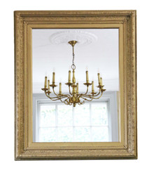 Large quality 19th Century gilt wall mirror or overmantle