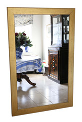 Very large gilt late 19th Century gilt wood overmantle or wall mirror