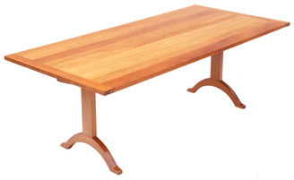 Large shaker style refectory dining table (ex Shaker Shop Chelsea)