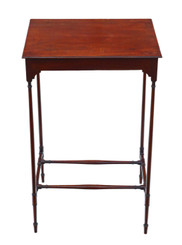19th Century mahogany occasional side table