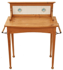 Victorian pine washstand dressing table