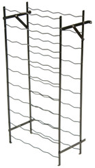 Large steel wine rack stand
