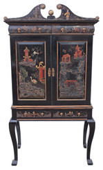 Chinoiserie dresser abbatant secretaire desk bureau writing table
