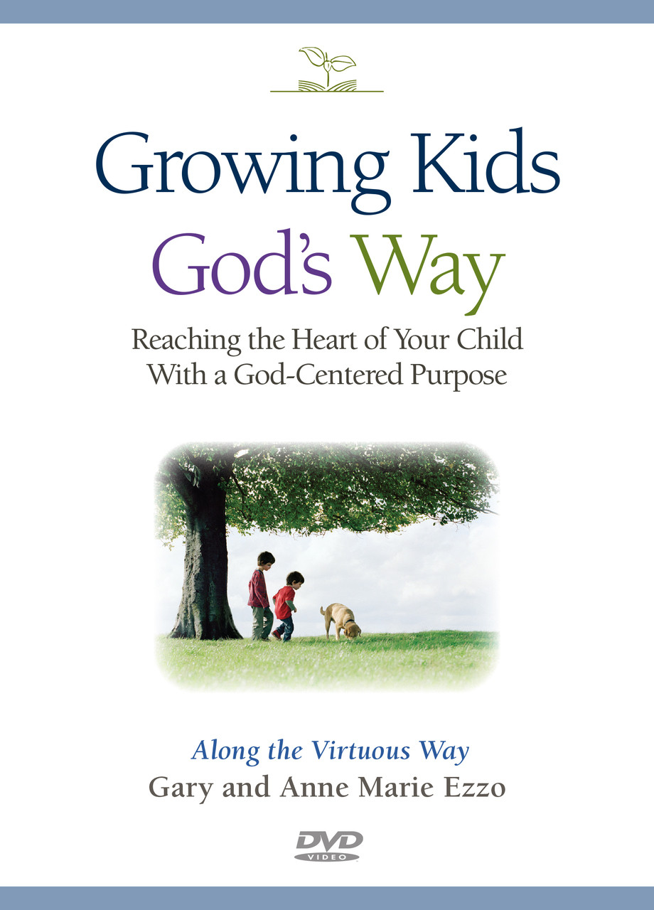 VIDEO SERIES on DVD | Growing Kids God's Way (SKU-3801)