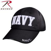 Rothco Navy Mesh Back Tactical Cap - Black