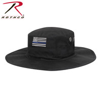 Rothco Thin Blue Line Adjustable Boonie Hat