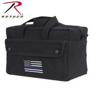 Rothco Thin Blue Line Mechanic Tool Bag
