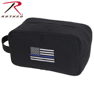 Rothco Thin Blue Line Canvas Travel Kit