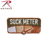 Rothco Suck Meter Morale Patch