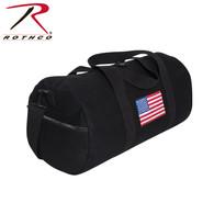 Rothco U.S. Flag Canvas Shoulder Duffle Bag
