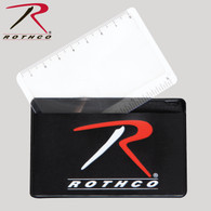 Rothco Survival Magnifying Card And Ruler