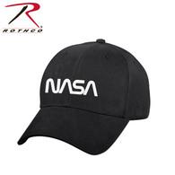Rothco NASA Worm Logo Low Profile Cap - Black