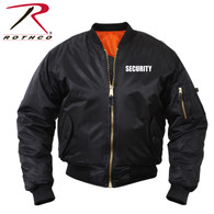 Rothco MA-1 Flight Jacket With Security Print