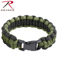 Rothco Two-Tone Paracord Bracelet