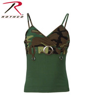 Rothco Womens 2-Tone Tank Top With Buckle