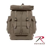 Rothco Canvas European Style Rucksack