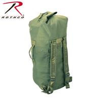 Rothco G.I. Type Enhanced Double Strap Duffle Bag