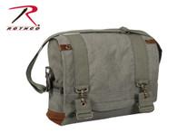 Rothco Vintage Canvas B-15 Pilot Messenger Bag