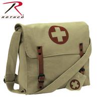 Rothco Vintage Medic Canvas Bag With Cross