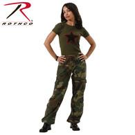 Rothco Women's Camo Vintage Paratrooper Fatigue Pants
