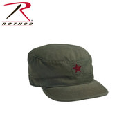 Rothco Vintage Fatigue Cap w/ Red Star