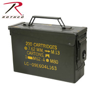 GI .30 & .50 Caliber Ammo Cans - Surplus