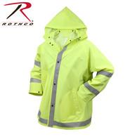 Rothco Safety Reflective Rain Jacket