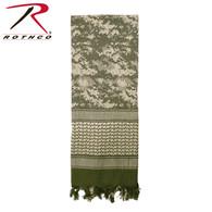 Rothco Digital Camo Shemagh Tactical Desert Keffiyeh Scarf