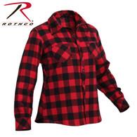 Rothco Womens Plaid Flannel Shirt