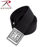 "Rothco 54"" Web Belts With Open Face Chrome Buckle"