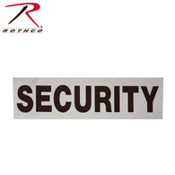 Rothco Reflective Security Patch