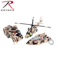 Rothco Super Warrior Vehicle Play Set