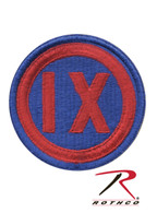 Rothco 9th Corps Patch