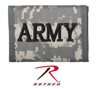 Rothco Camo Commando Wallet w/ Army Embroidery