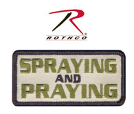 Rothco Spraying And Praying Morale Patch