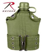 Rothco G.I. Type Plastic Canteen & Pistol Belt Kit
