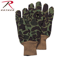 Rothco Camo Jersey Work Gloves