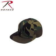 Rothco Woodland Camo Full Back Cap