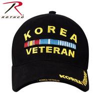 Rothco Deluxe Korea Veteran Low Profile Insignia Cap