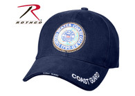 Rothco U.S. Coast Guard Deluxe Low Profile Insignia Cap
