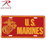 Rothco US Marines License Plate