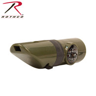 Rothco 6-in-1 LED Survival Whistle Kit