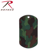 Rothco Camo Dog Tags